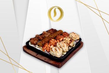 Lebanese mix grill platter