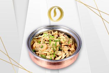 Chicken Mushroom Handi